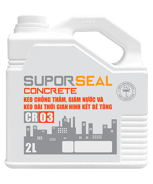 Keo chống thấm Suporseal Concrete