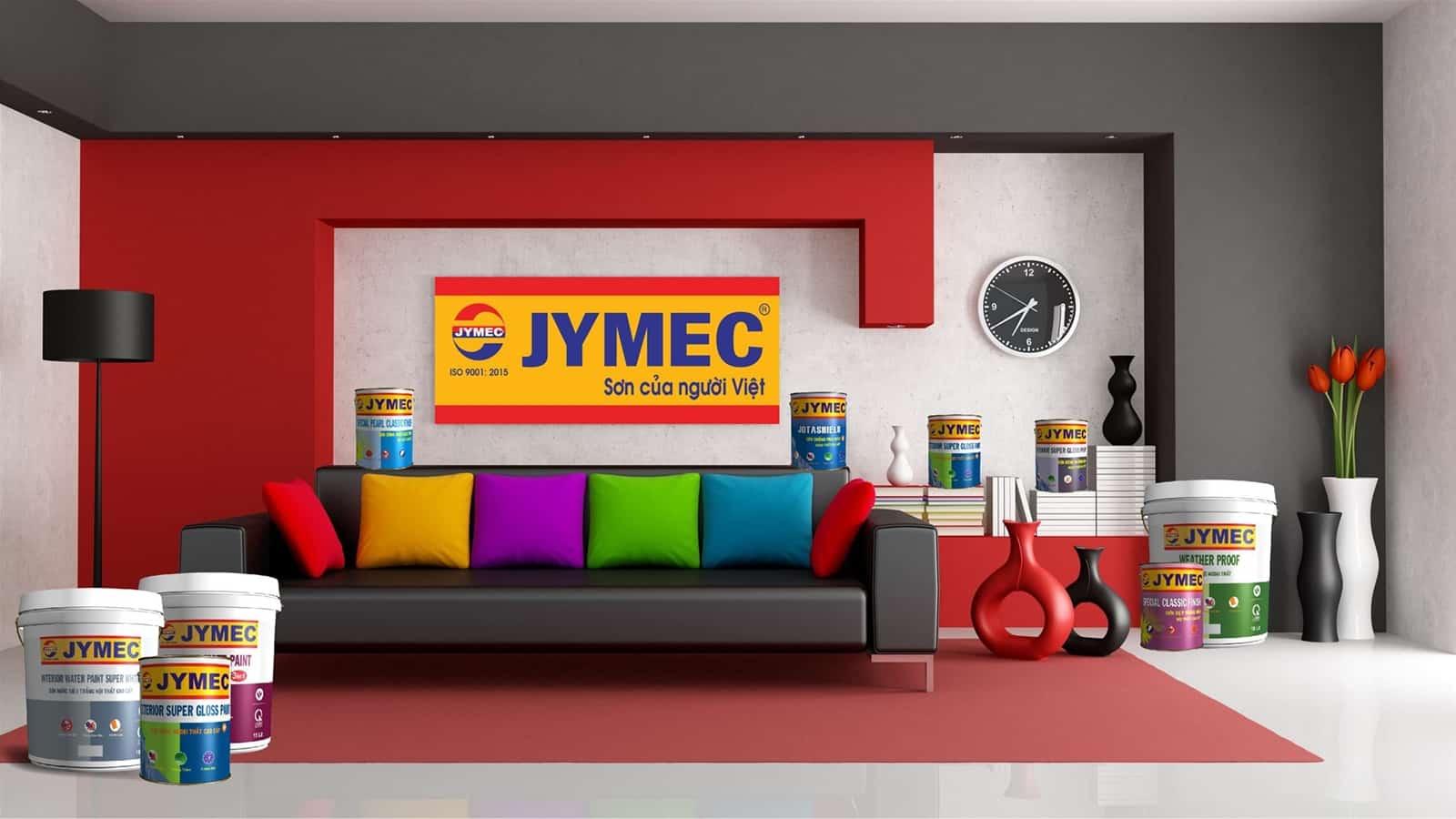 Bảng màu sơn JYMEC mới nhất