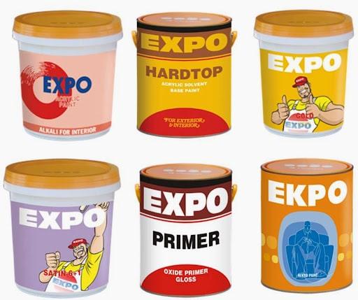 Bảng giá sơn Expo khá phải chăng và cạnh tranh hơn