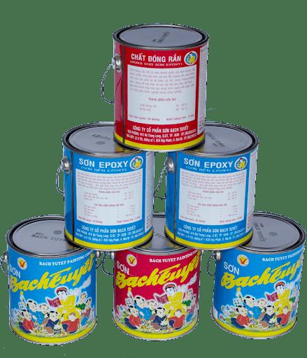 Một số ứng dụng của dòng sơn công nghiệp Bạch Tuyết