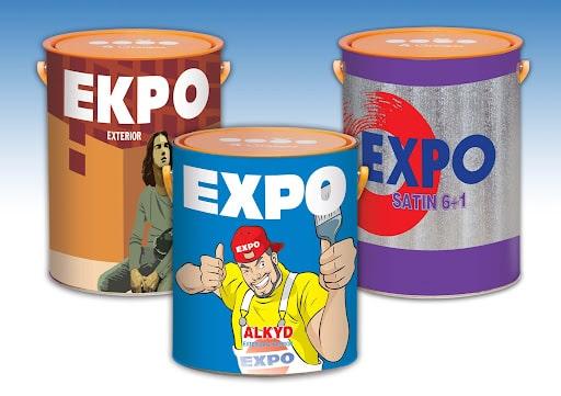 Sơn Expo không dễ bay màu