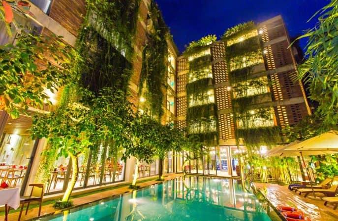 Khách sạn Atlas Hội An tison paint