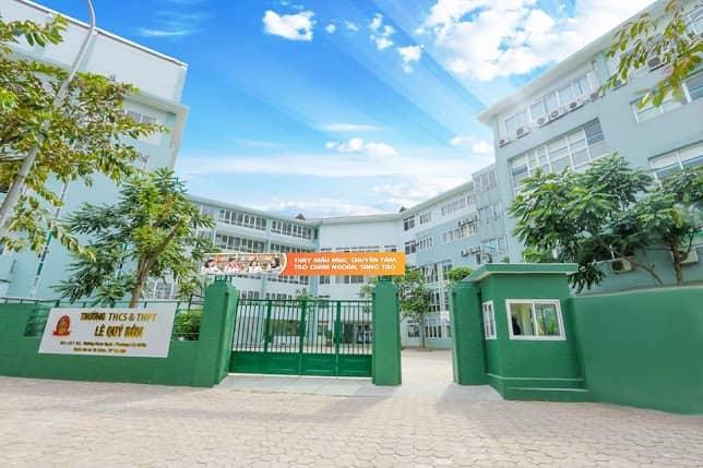 Trường THCS & THPT Lê Quý Đôn - Hà Nội sơn viglacera