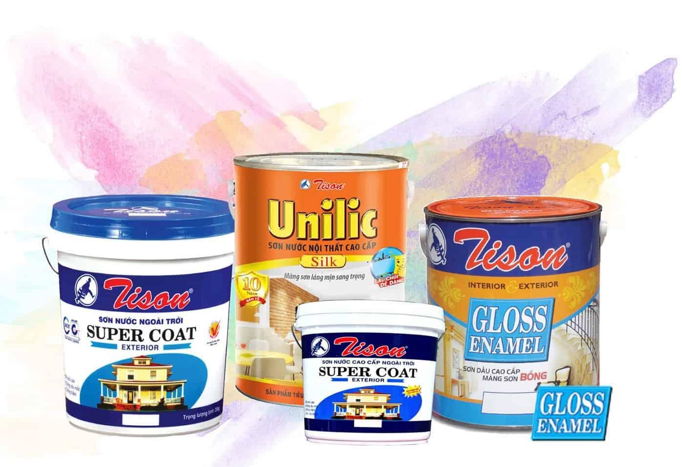 Hệ thống sản phẩm sơn Tison