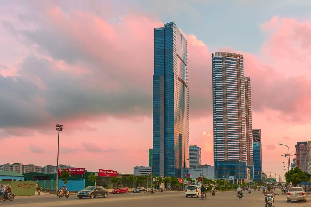 Keangnam Hà Nội Landmark Tower sơn behr