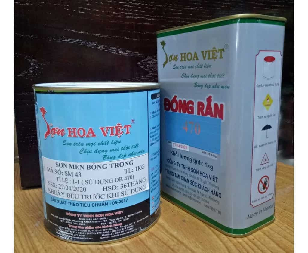 Sơn Hoa Việt gồm những dòng sản phẩm nào?