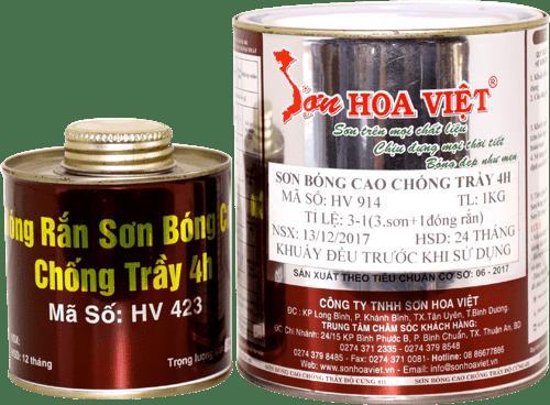 Sơn Hoa Việt của công ty nào?