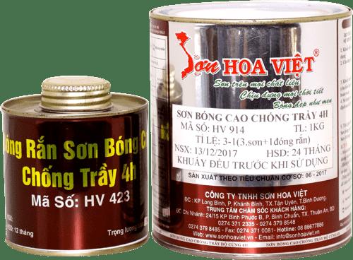 quy trình sản xuất sơn Hoa Việt rất hiện đại