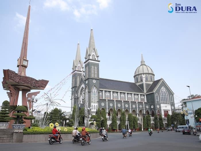 Nhà Thờ Giáo Phận Phú Cường tại Bình Dương