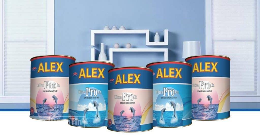Các sản phẩm sơn Alex