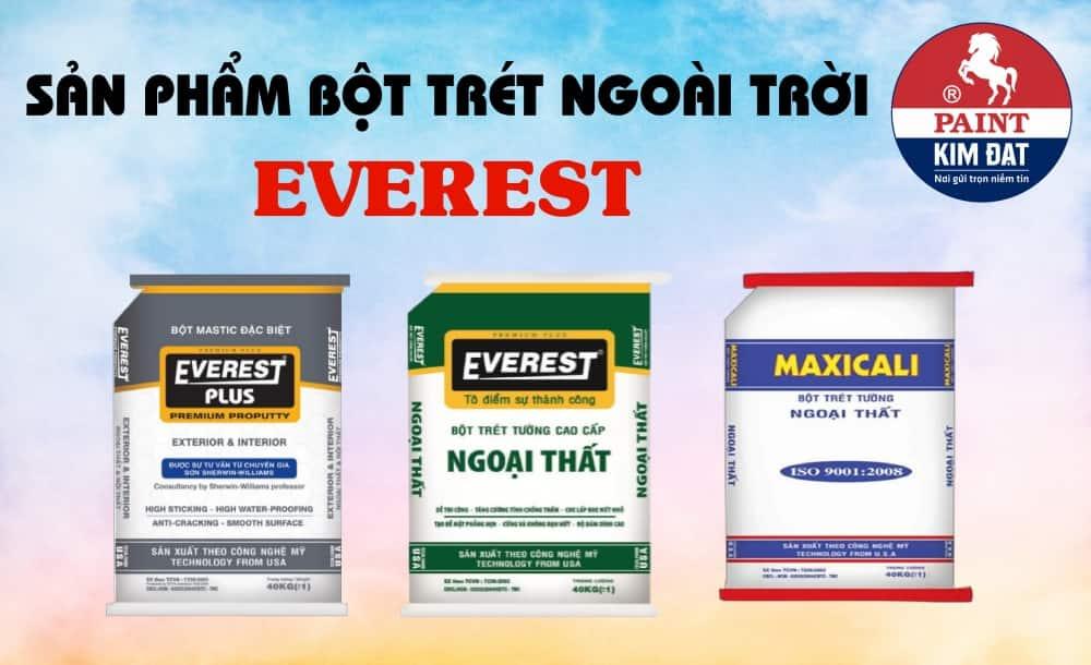 Bột trét Everest