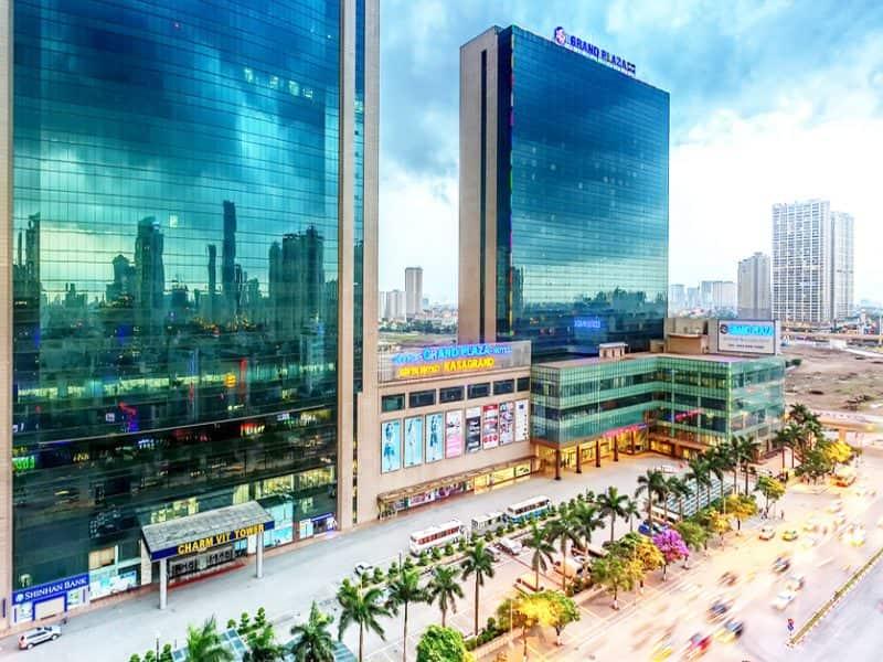 Khách sạn Hà Nội Plaza sơn behr