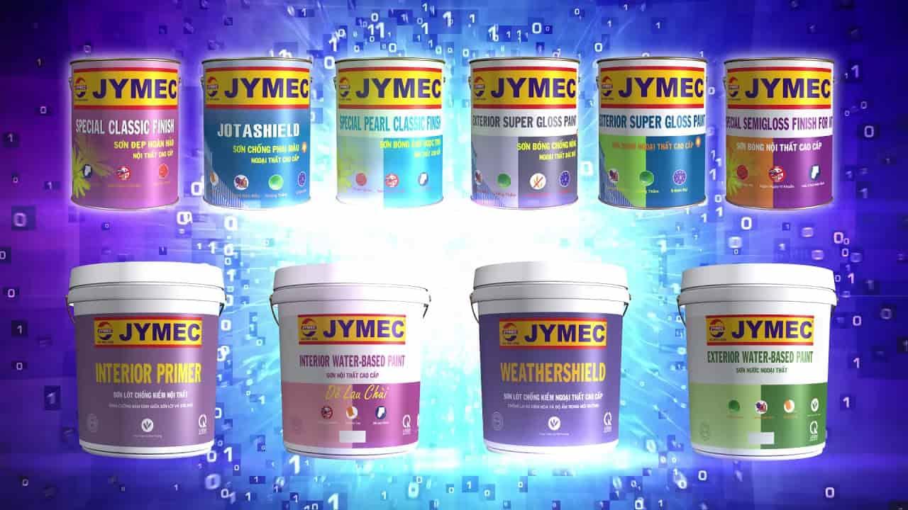 Các dòng sản phẩm sơn JYMEC trên thị trường