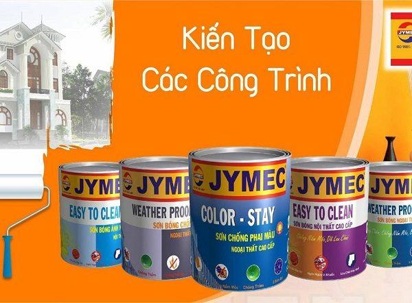 Các dòng sản phẩm sơn nước JYMEC