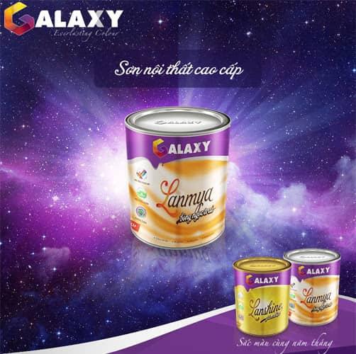 Sơn Galaxy - Sắc Màu Ngân Hà Trường Tồn Với Thời Gian