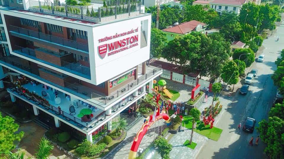Trường mầm non quốc tế WINSTON - Bắc Ninh sơn viglacera